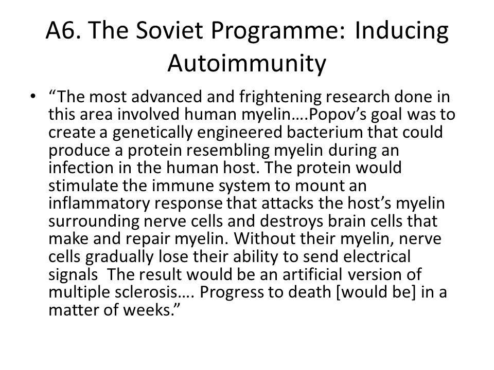 A7.The Soviet Programme: Rationale …The reasons are quite simple.