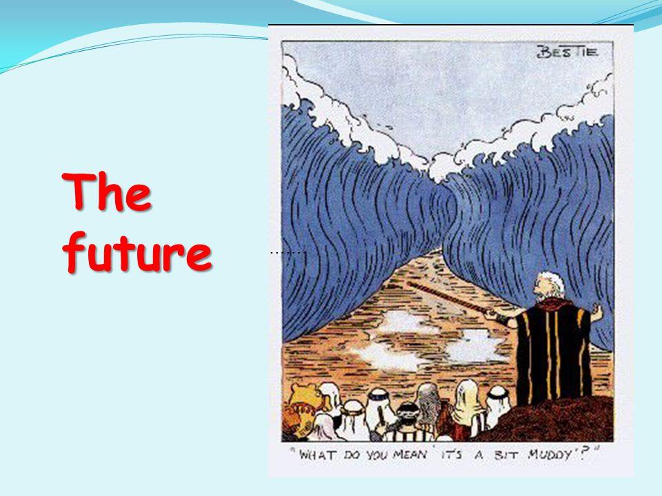 ……. The future