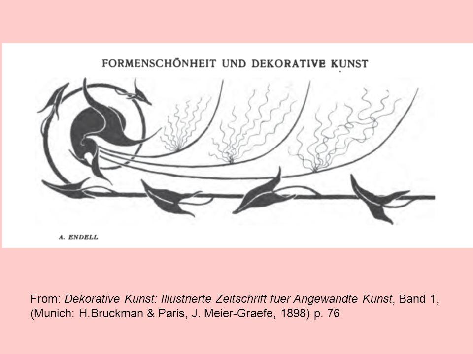 From: Dekorative Kunst: Illustrierte Zeitschrift fuer Angewandte Kunst, Band 1, (Munich: H.Bruckman & Paris, J. Meier-Graefe, 1898) p. 76
