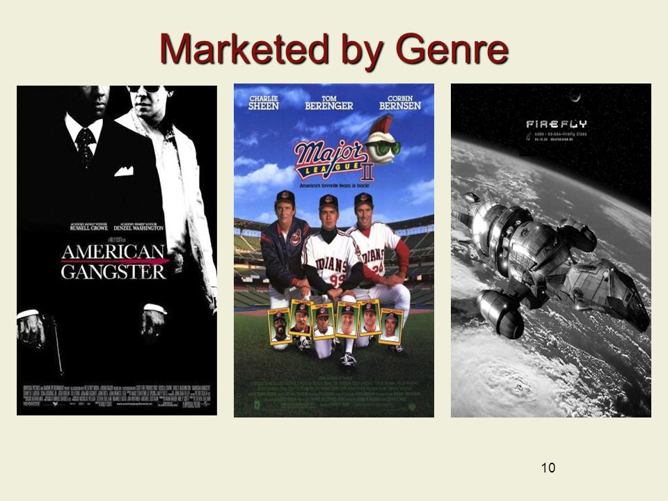 10 Marketed by Genre