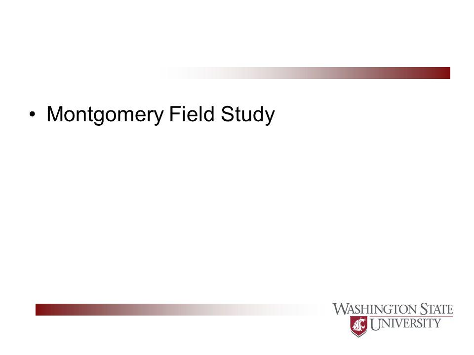 Montgomery Field Study