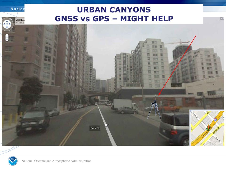 URBAN CANYONS GNSS vs GPS – MIGHT HELP