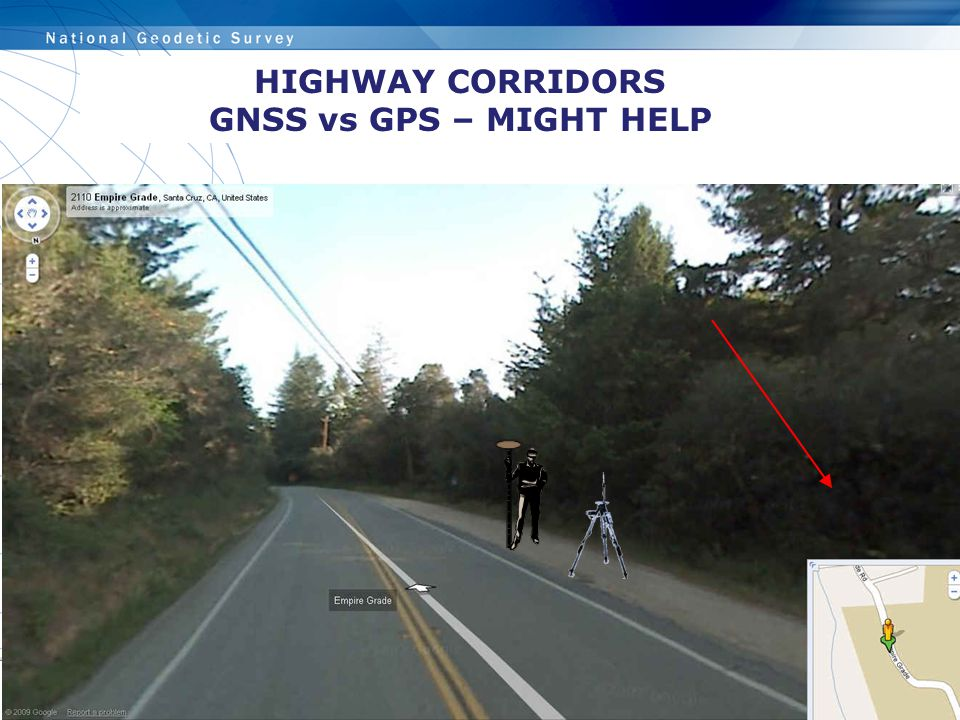 HIGHWAY CORRIDORS GNSS vs GPS – MIGHT HELP