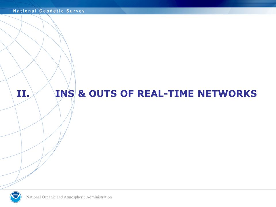 II. INS & OUTS OF REAL-TIME NETWORKS