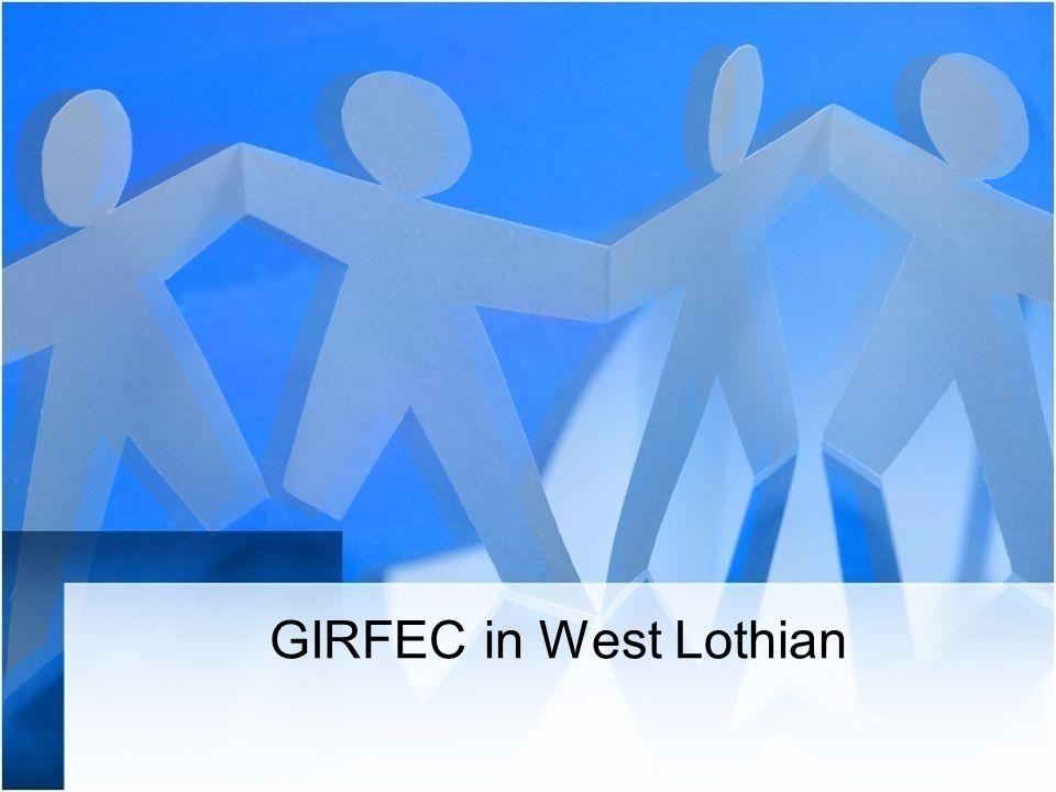GIRFEC in West Lothian