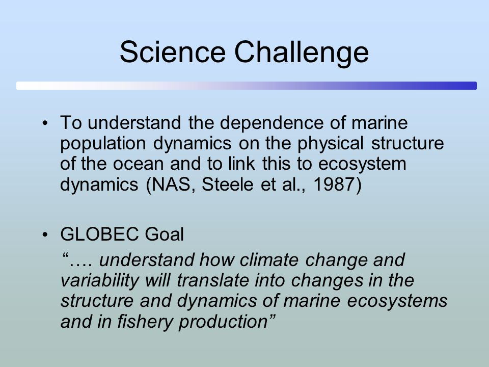 Relevance to Global Ecosystems Global carbon budget models lack biological detail Current models do not capture what is known about ecosystems and harvesting/human impacts