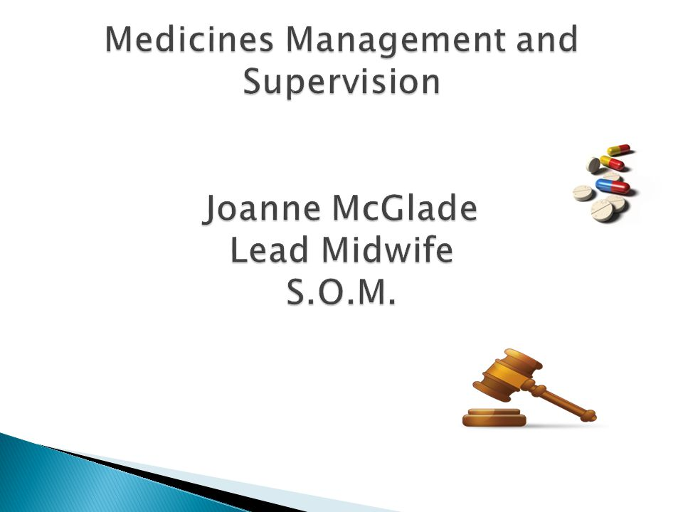  Definition of medicines management  Incidents reported  How medications errors are reported  Actions taken to prevent reoccurrence  Role of the Supervisor in relation to medications errors.