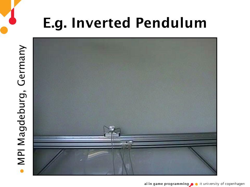 ai in game programming it university of copenhagen E.g. Inverted Pendulum  MPI Magdeburg, Germany