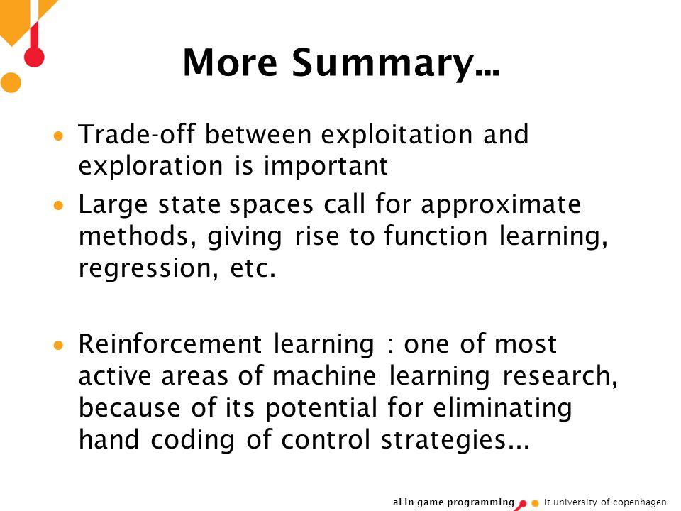 ai in game programming it university of copenhagen More Summary...