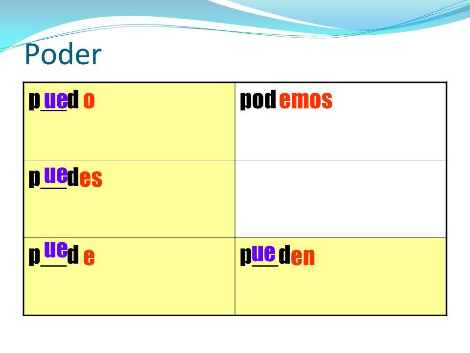 Poder p__dpod p__d o es e emos en ue