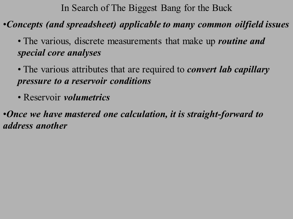 The Statistical Approach Over-view An advantage of Monte Carlo is that many types of distributions can be used to characterize the uncertainty of a parameter Normal, log normal, rectangular, triangular, etc