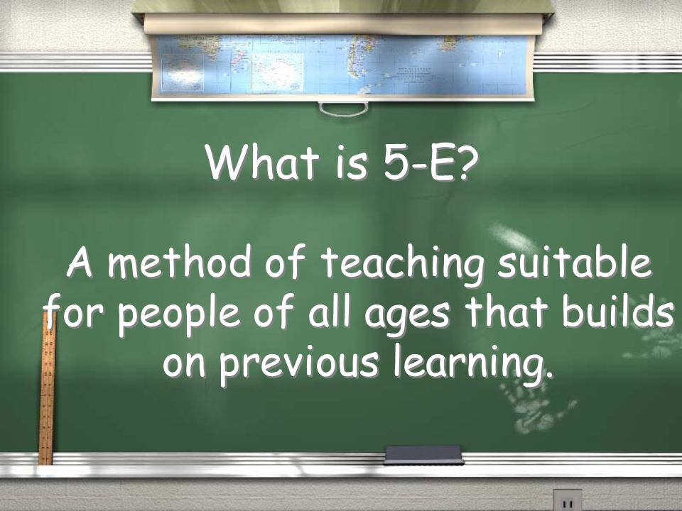Break up into groups / In each group use the provided hand out to come up with a 1 class lesson plan using the 5-E model.