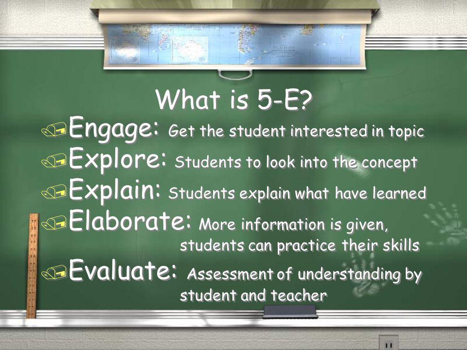 How do we Explain .