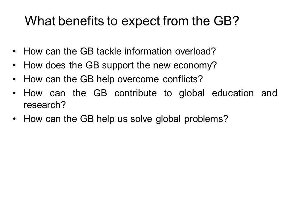 Evolution of the GB Can a GB spontaneously evolve.