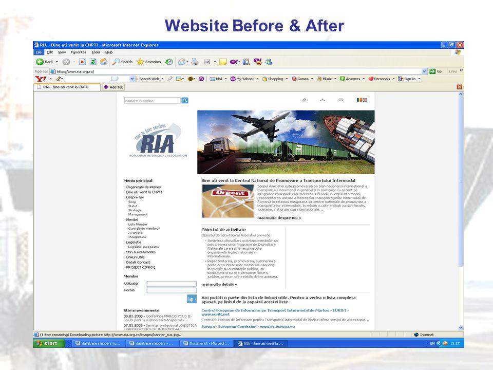 Website Before & After