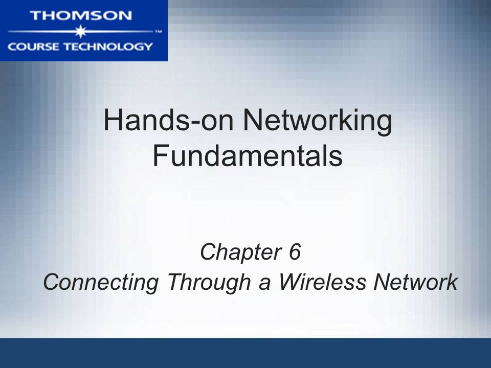 Hands-on Networking Fundamentals22 Alternative Radio Wave Technologies Three popular alternatives to 802.11 group –Bluetooth –HiperLAN –HomeRF SWAP Alternative standards supported by specific vendors