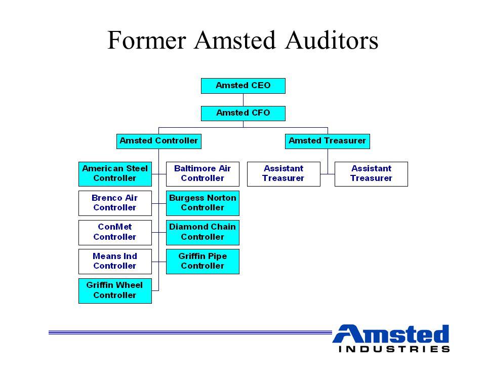 Former Amsted Auditors