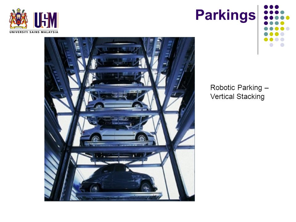Parkings Robotic Parking – Vertical Stacking