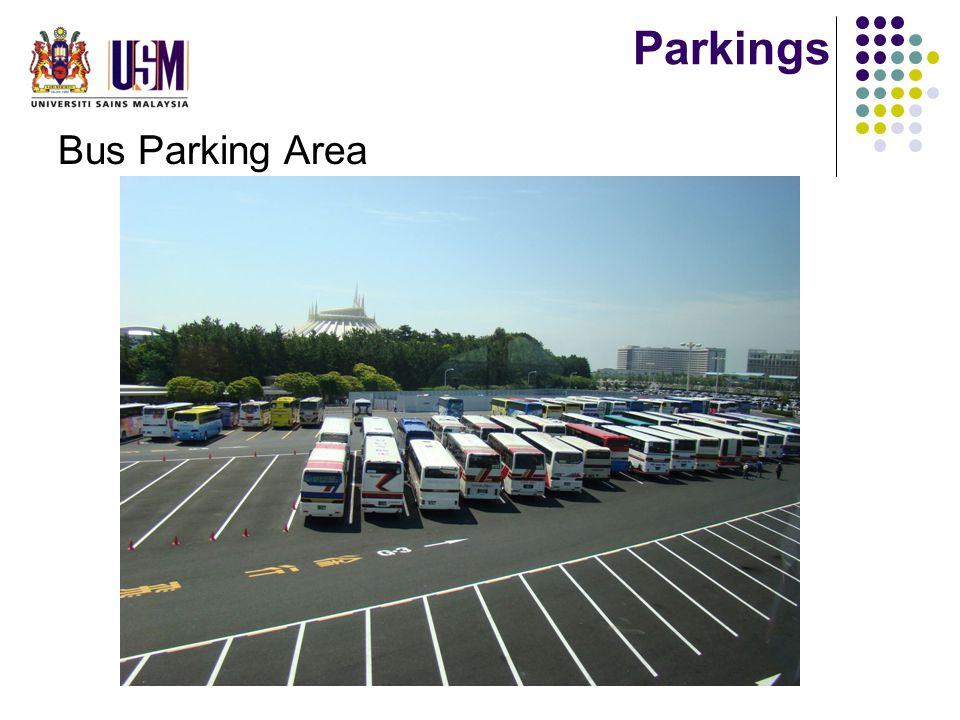 Parkings Bus Parking Area