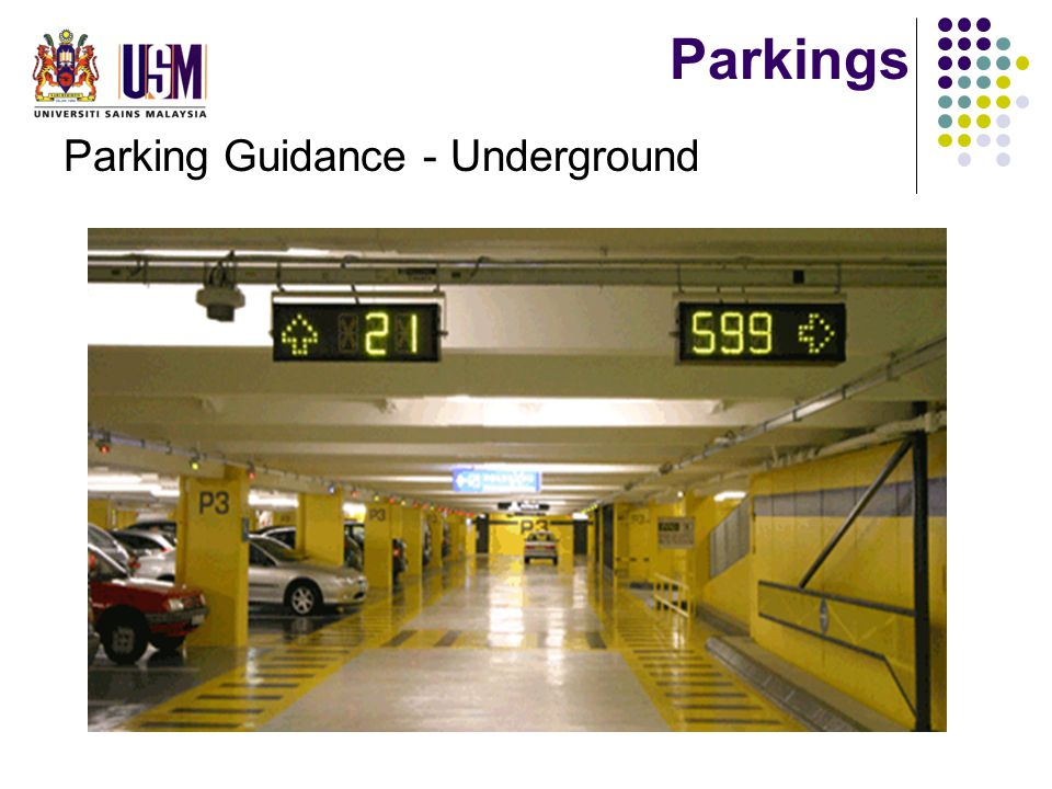 Parkings Parking Guidance - Underground