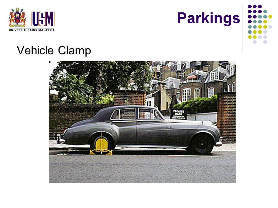 Parkings Vehicle Clamp