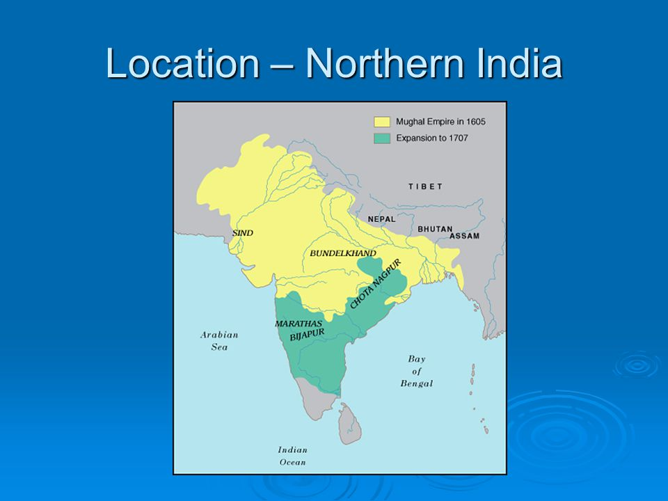Location – Northern India