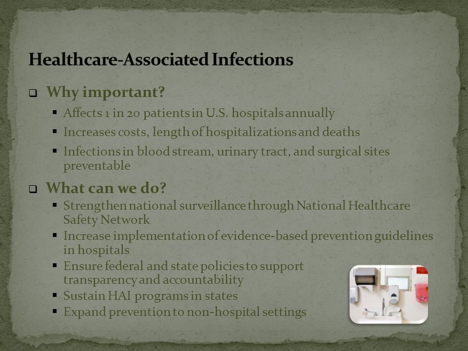  Why important.  Affects 1 in 20 patients in U.S.