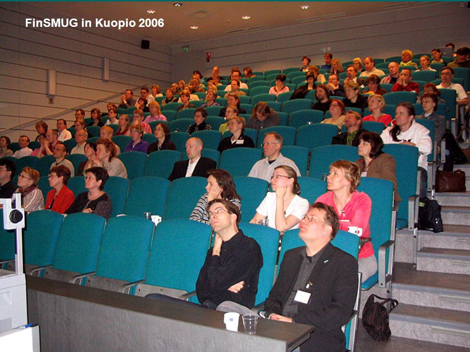 The National Library of Finland FinSMUG in Kuopio 2006