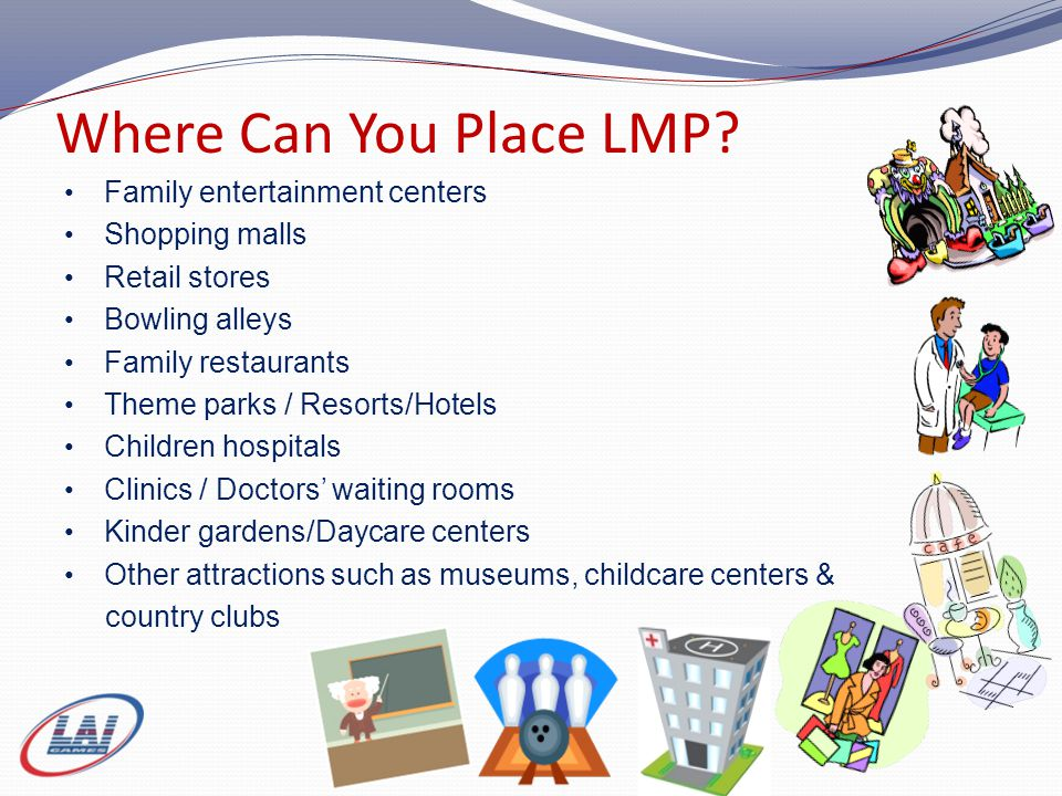 Where Can You Place LMP.