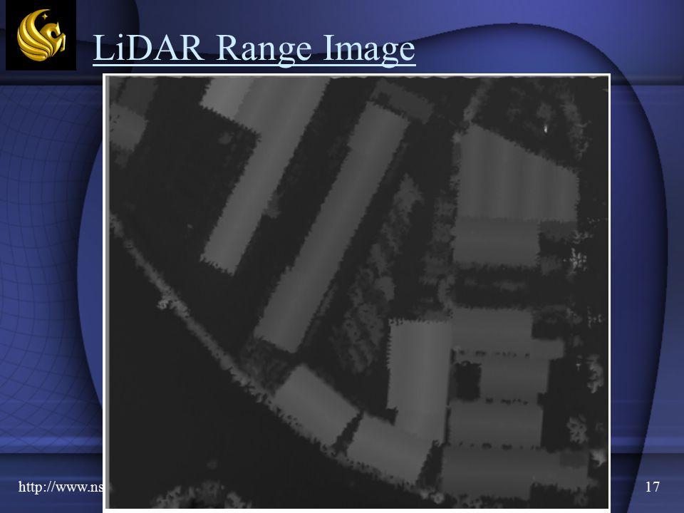 http://www.nshorter.com17 LiDAR Range Image
