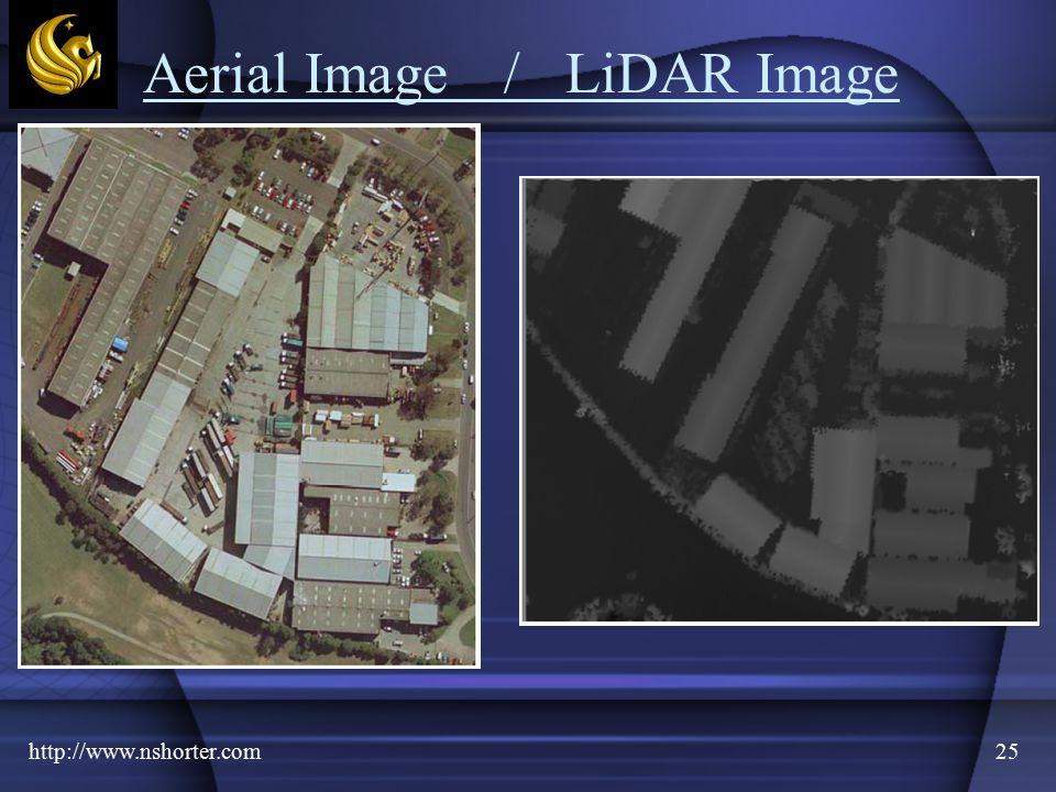 http://www.nshorter.com25 Aerial Image /LiDAR Image