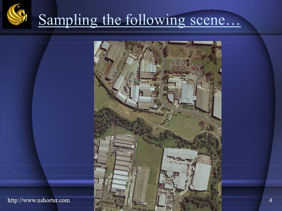 http://www.nshorter.com4 Sampling the following scene…