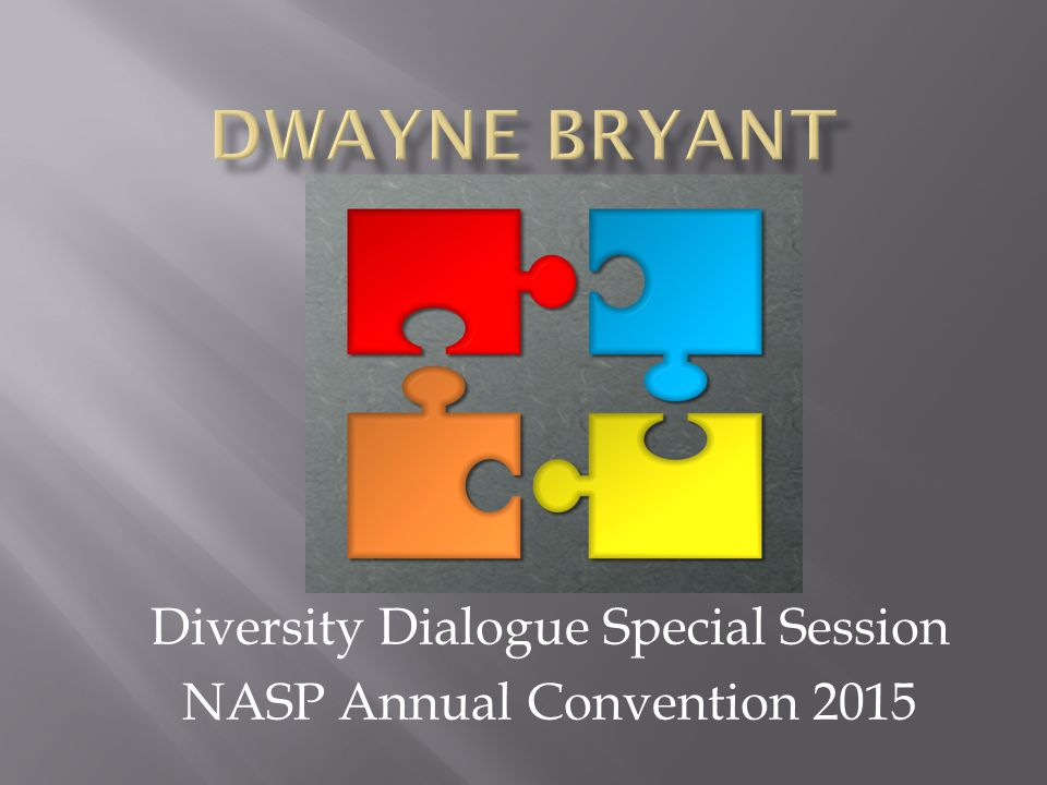 Diversity Dialogue Special Session NASP Annual Convention 2015
