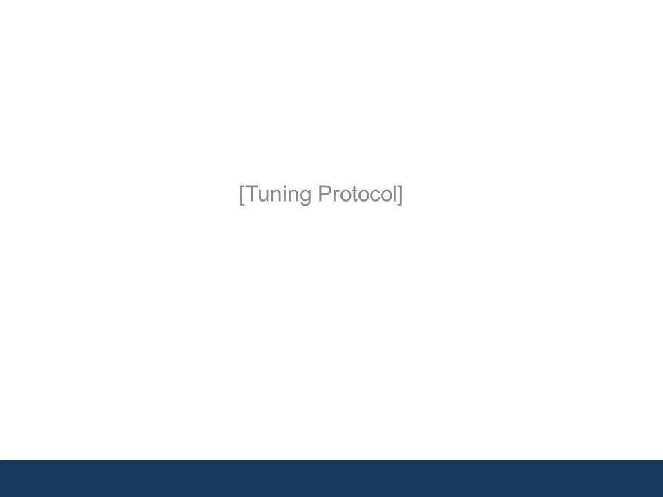 [Tuning Protocol]