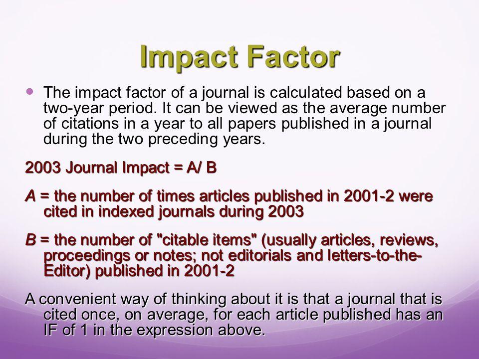 Author (You) What are the career benefits for publishing in a particular journal.