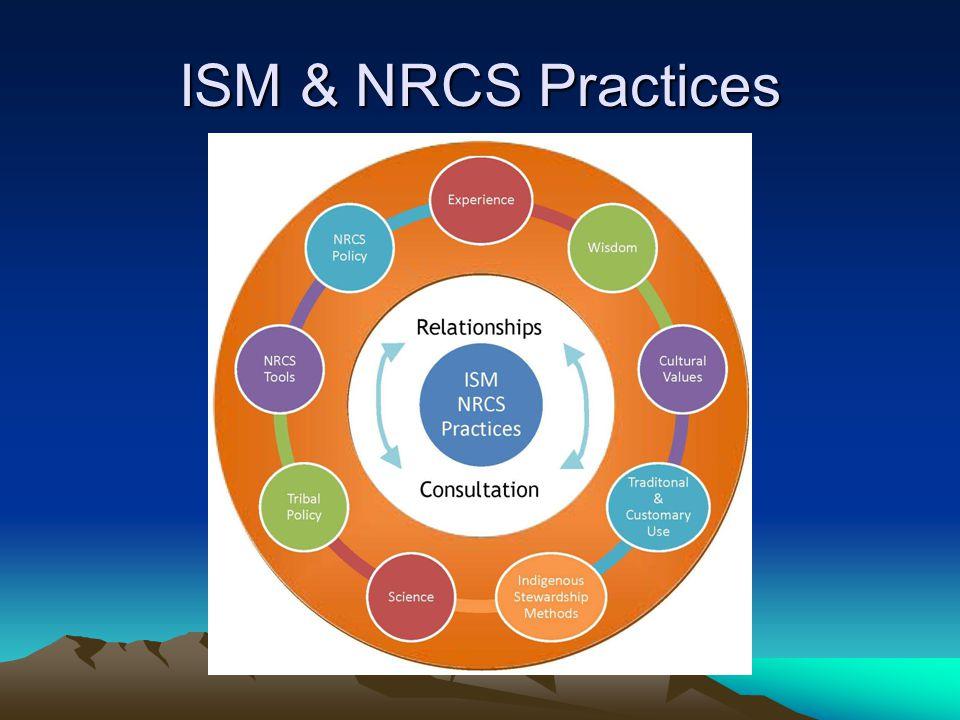 ISM & NRCS Practices