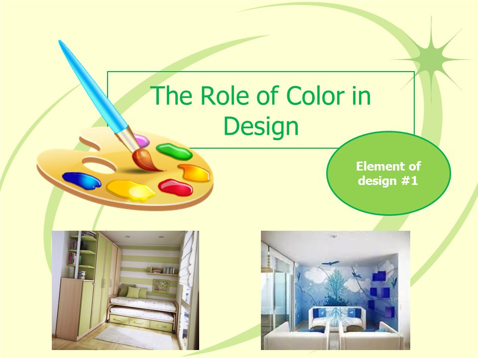 The Role of Color in Design Element of design #1