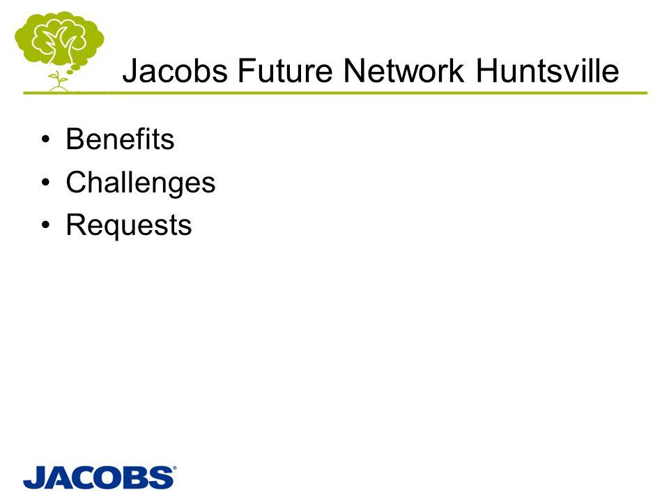 Jacobs Future Network Huntsville Benefits Challenges Requests