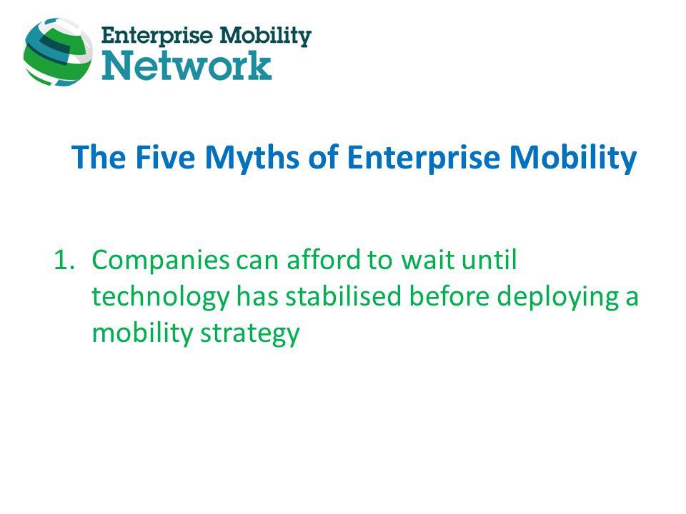 Thank You! www.enterprisemobilitynetwork.com