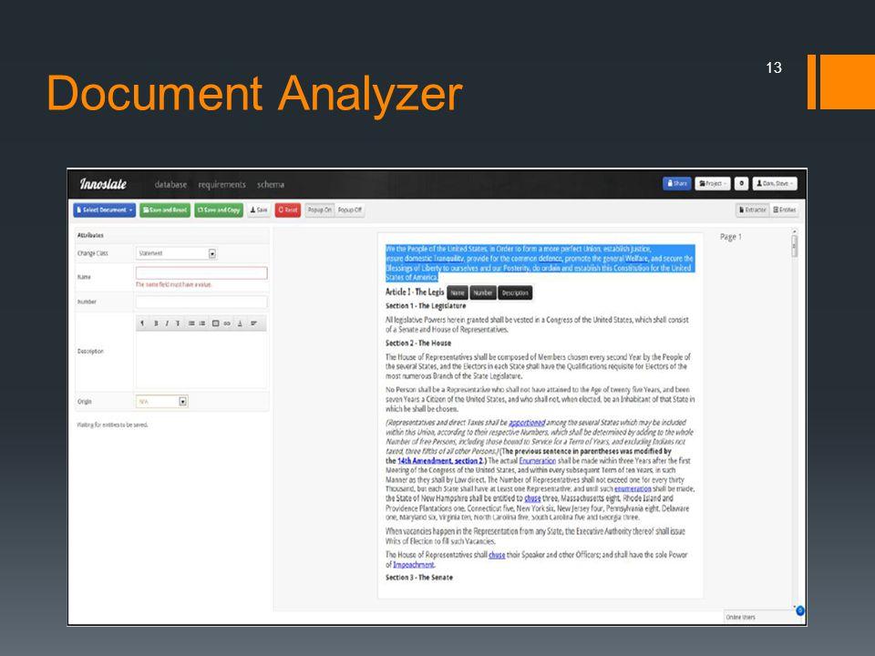 Document Analyzer 13