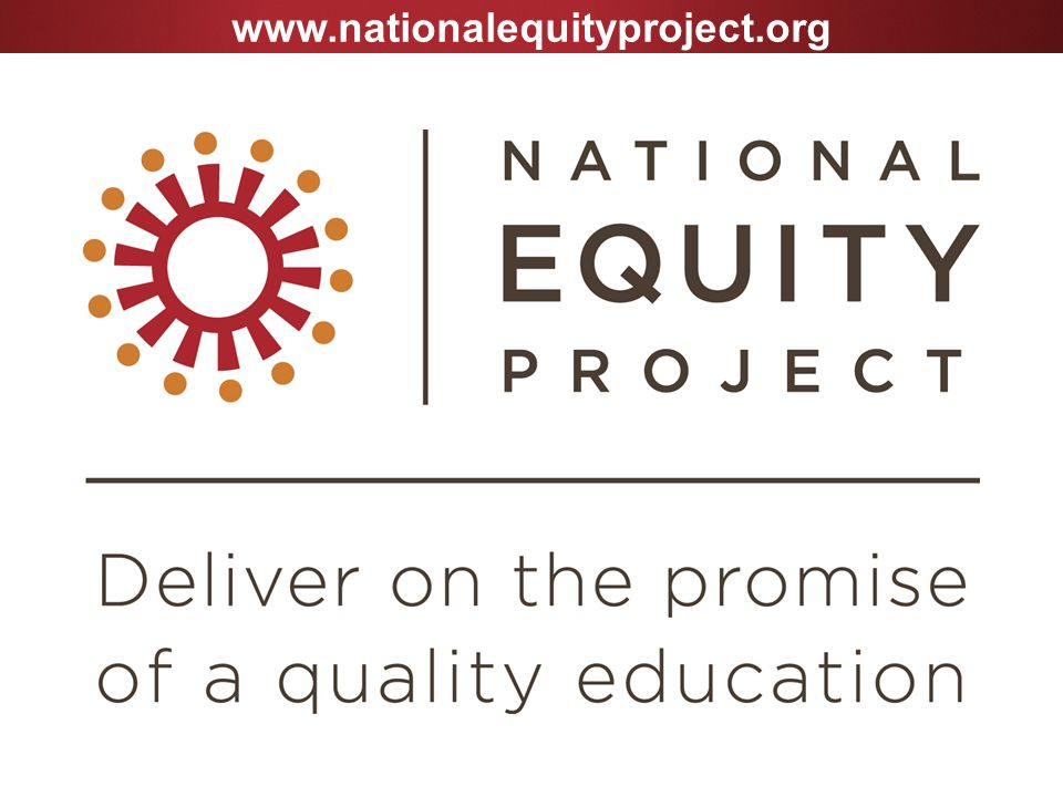 www.nationalequityproject.org