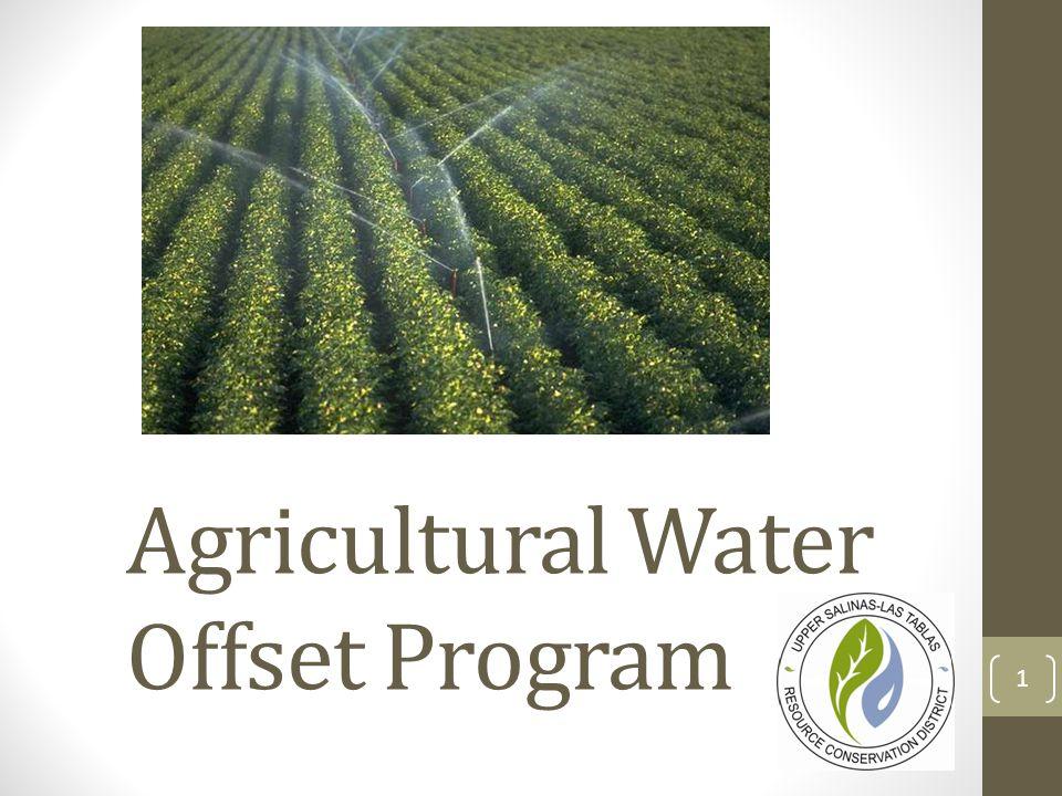 Agricultural Water Offset Program 1