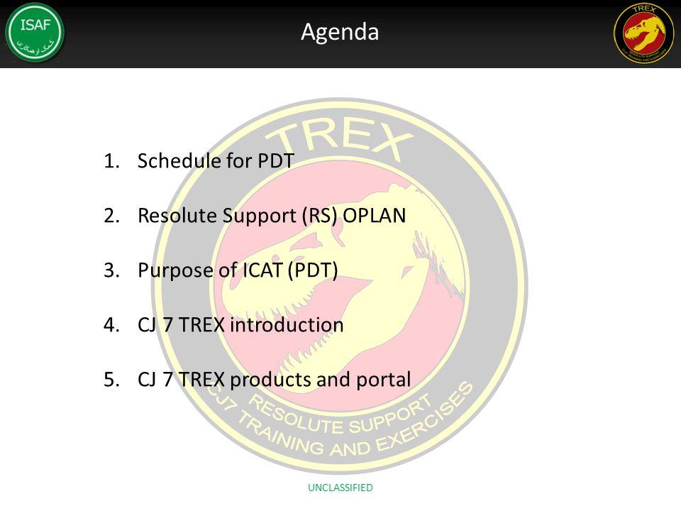 4. CAAT/CJ7 TREX Portal Site http://portal.hq.ms.isaf.nato.int/CGHQ/CAAT/default.aspx UNCLASSIFIED