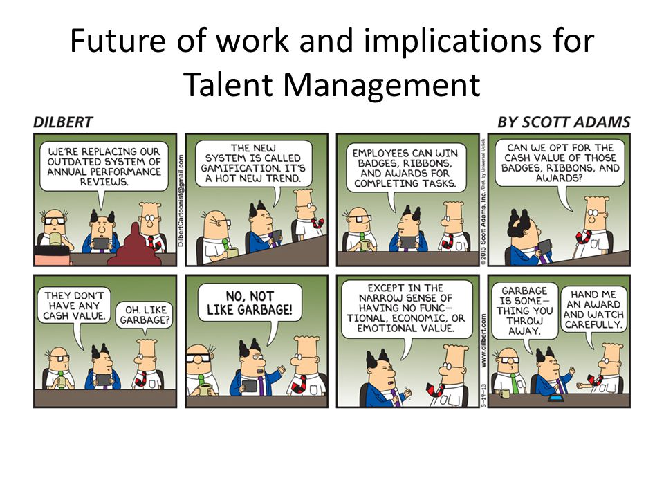 Future of work and implications for Talent Management