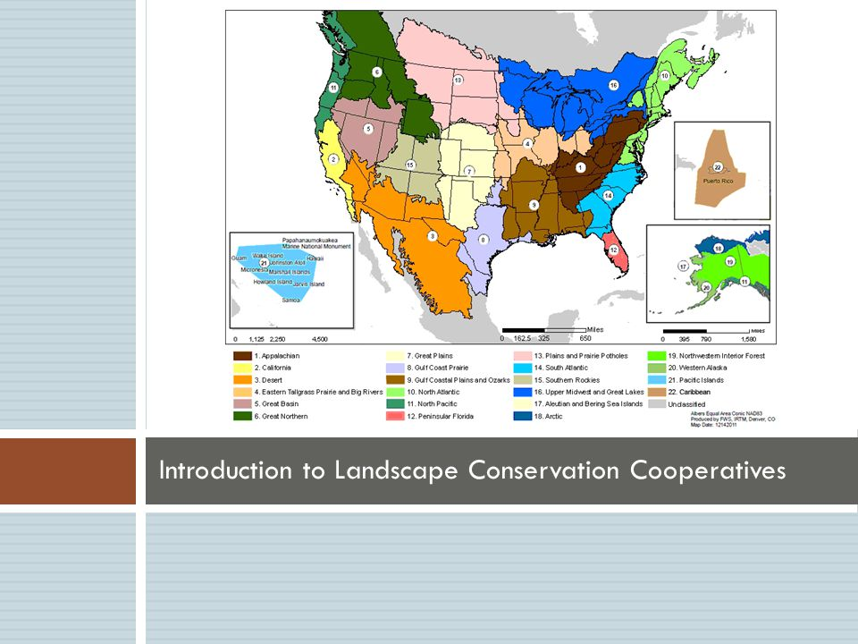 Introduction to Landscape Conservation Cooperatives