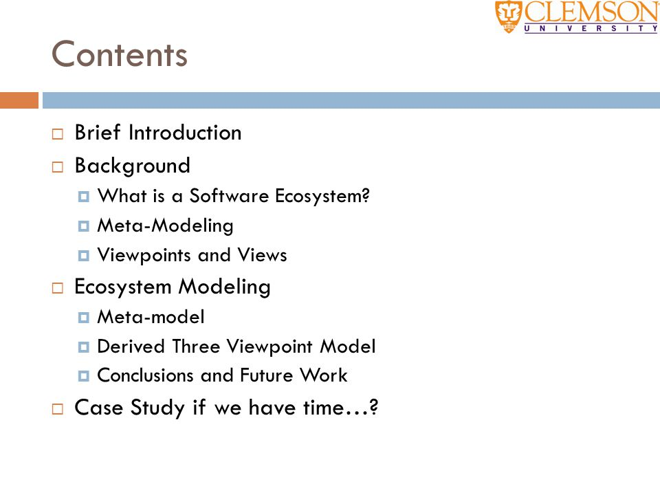 Meta-Modeling  But what do we use to define a model?  Answer: A meta-model.