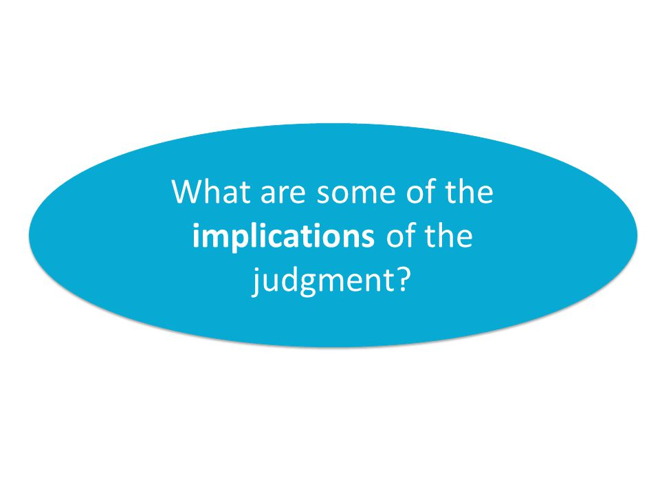 RA Le Sueur v eThekwini Municipality 2013 JDR 0178 (KZP) What are some of the implications of the judgment
