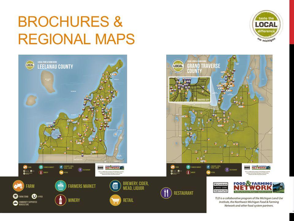 BROCHURES & REGIONAL MAPS