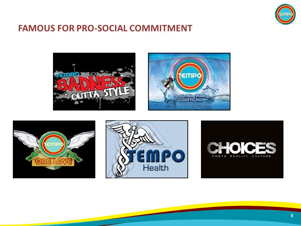 FAMOUS FOR PRO-SOCIAL COMMITMENT 5