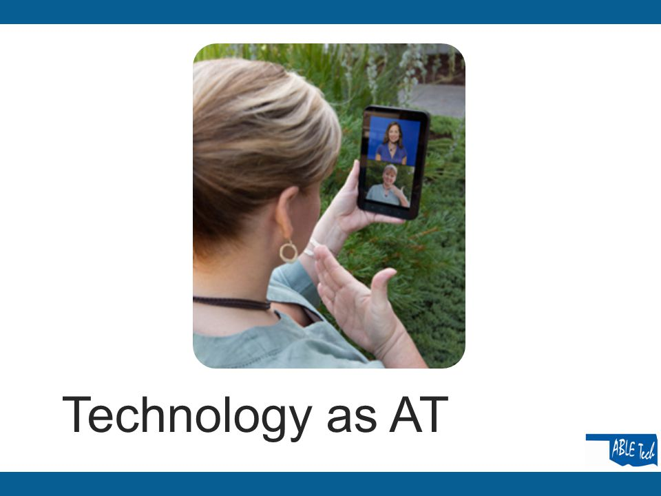 Technology as AT